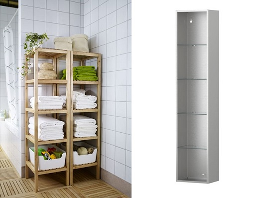 Los muebles de baño más baratos de Ikea armarios, estanterías