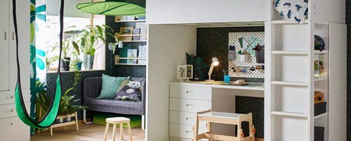 Ikea camas archives mueblesueco - Armario escritorio ikea ...