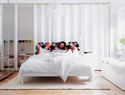 ikea cortinas dormitorio matrimonio