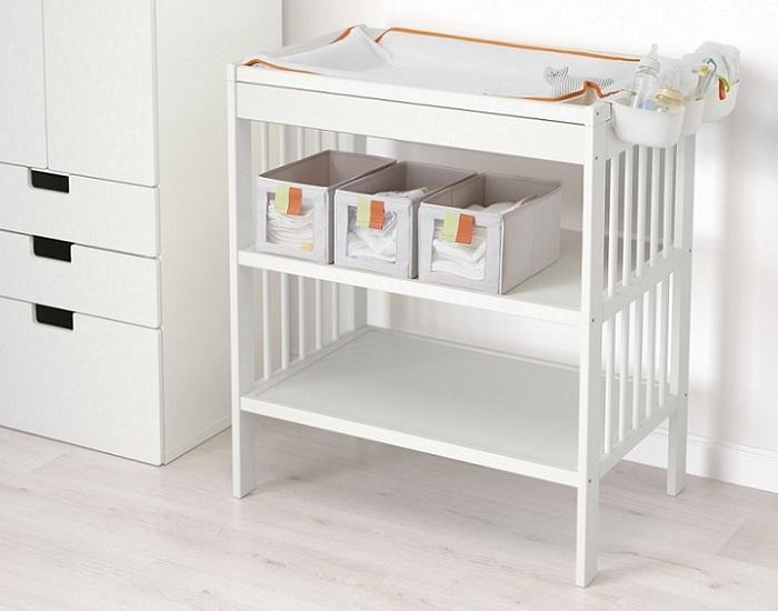 mueble cambiador ikea para beb s gulliver sundvik