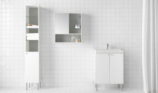 Los muebles de baño más baratos de Ikea: armarios ...