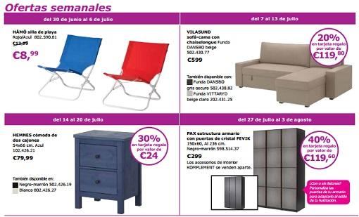 ofertas Ikea para el mes de julio 2014