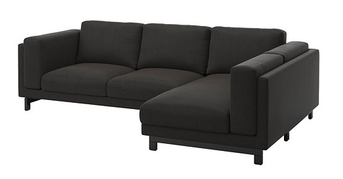 sofa con chaise longue ikea mueblesueco. Black Bedroom Furniture Sets. Home Design Ideas