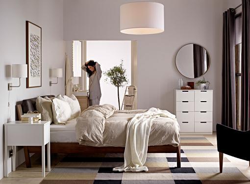 Las camas Ikea de matrimonio más estilosas para el dormitorio