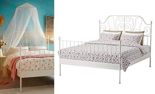 Camas ikea de matrimonio forja leirvik mueblesueco for Ikea catalogo camas