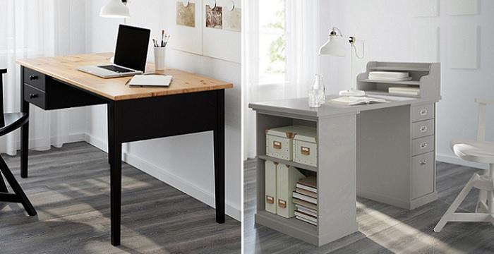 escritorios de ikea despacho