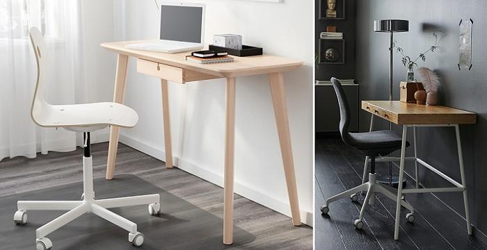 escritorios de ikea nordicos