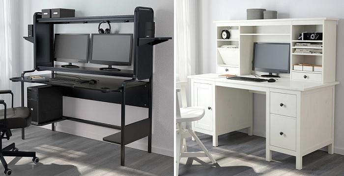 8 escritorios de ikea para tu rinc n de trabajo for Mesas para ordenador ikea