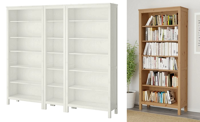 estanterias y librerias ikea hemnes