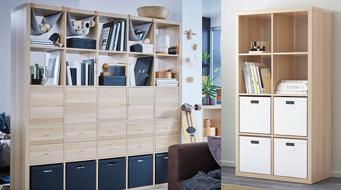 Estanter as y librer as ikea billy kallax expedit liaptorp y hemnes - Estanterias baratas ikea ...