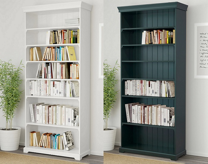 Estanter as y librer as ikea billy kallax expedit liaptorp y hemnes - Estanterias a medida ikea ...