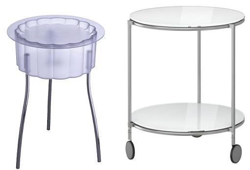 Decoracion mueble sofa ikea mesitas auxiliares - Tablero vidrio malm ...
