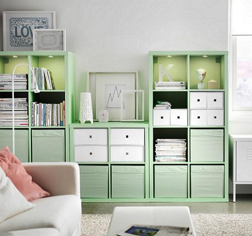 Ikea Billy, Kallax (Expedit), Liaptorp y Hemnes  mueblesueco