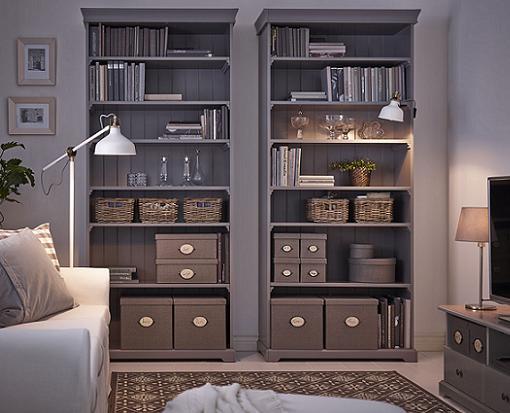 Estanterías y librerías Ikea: Billy, Kallax (Expedit), Liaptorp y ...
