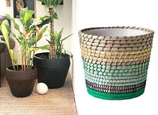 Maceteros de interior decora con plantas depuran el aire - Macetas originales para plantas ...