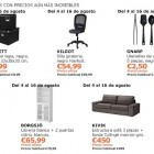 ofertas Ikea para agosto 2014