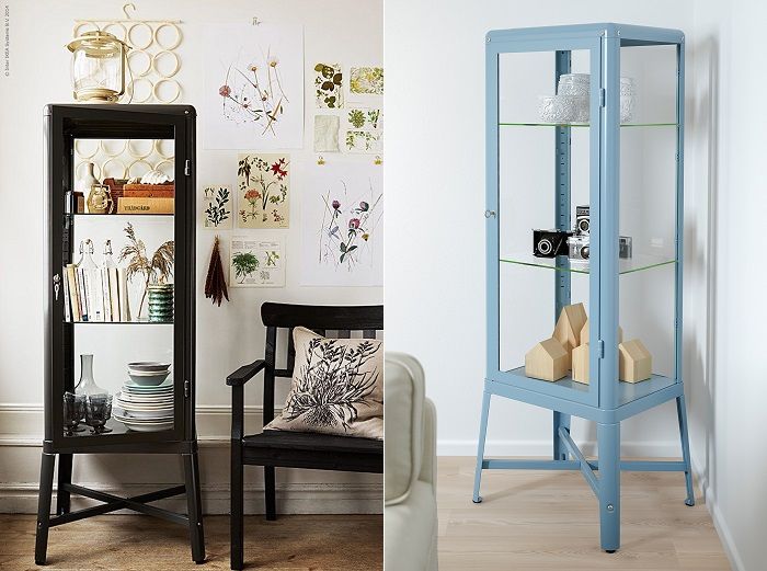 10 aparadores y vitrinas ikea para decorar tu sal n for Ideas para decorar una vitrina de salon