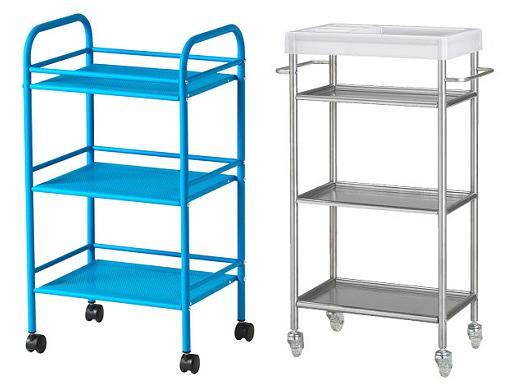 accesorios baños ikea carritos muebles auxiliares