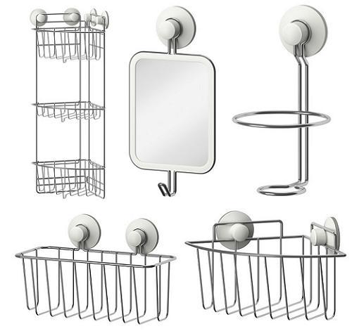 Estanteria Para Baño Ventosas:Nuevos accesorios de baño Ikea para hacer más fáciles tus mañanas