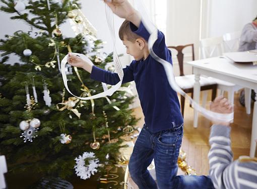 adornos navideños ikea arbol