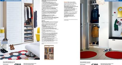 Catálogo de armarios Ikea 2015