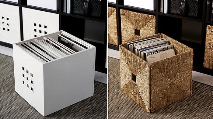 cestas cajas de ikea estanterias