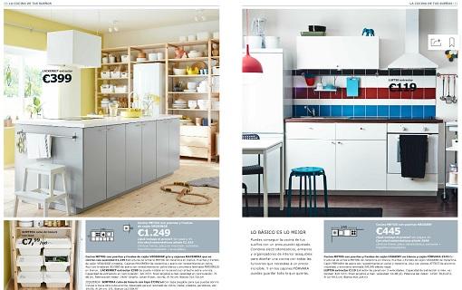 Cocinas catálogo Ikea 2015