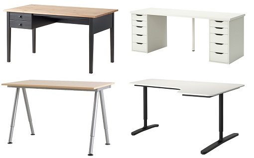 Mesas Oficina Ikea - Arquitectura Del Hogar - Serart.net