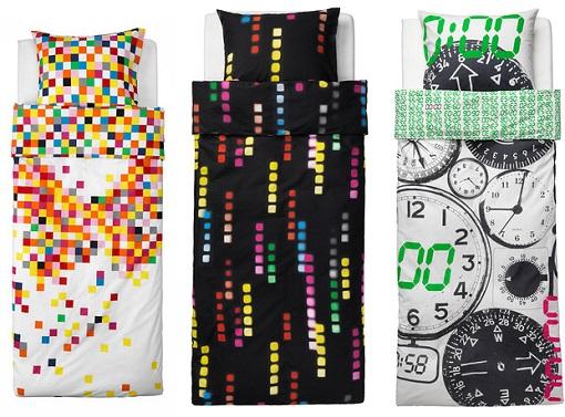 Nuevos textiles de ikea ni os para el dormitorio infantil for Fundas nordicas juveniles chico