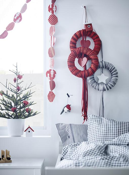 ikea decoracion navideña
