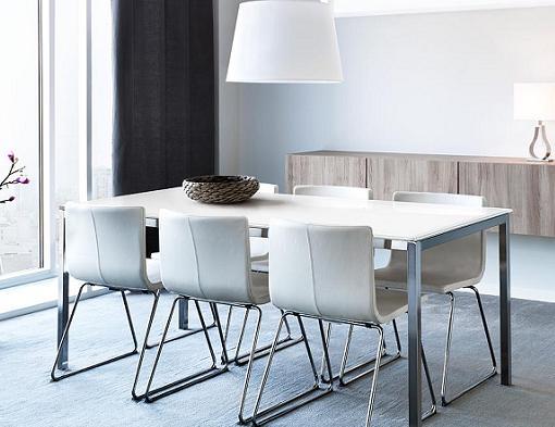 Decoracion mueble sofa: Mesa comedor cristal ikea
