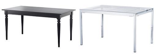 Mesas redondas de ikea para el comedor extensibles de - Cristales para mesas redondas ...