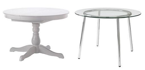 8 mesas de comedor Ikea para tu salón: Extensibles, redondas ...