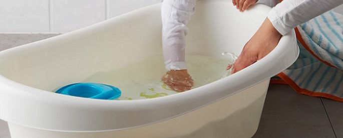 la bañera para bebe de ikea muy barata y segura