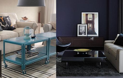 Mesas de centro ikea modernas mueblesueco for Ikea mesas salon centro