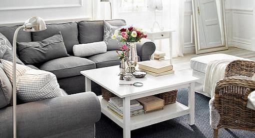 Salones con muebles de ikea idea creativa della casa e for Muebles para salon ikea