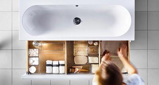 Nuevos accesorios de baño Ikea para hacer más fáciles tu mañanas