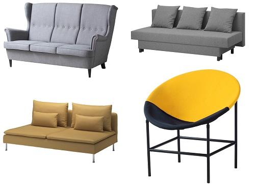 Nuevos sofás Ikea