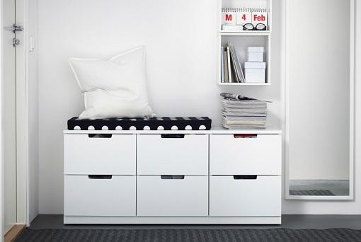 Kommode Schlafzimmer Poco  Narrow Hallway Storage Ideas IKEA