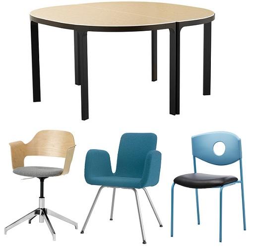 Aunque por supuestos también hay otros muebles de oficina Ikea como
