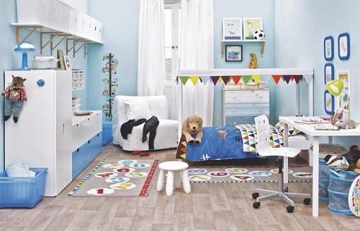 Alfombras para dormitorios infantiles decoracion infantil for Ikea alfombra azul