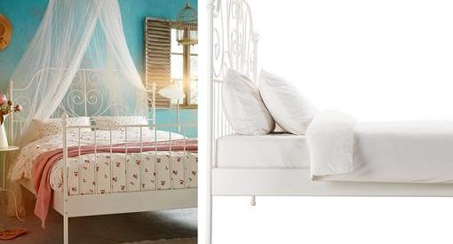 camas con cabeceros de forja ikea modernos economicos