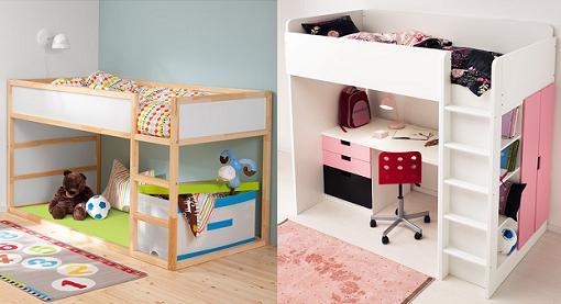 Las mejores camas infantiles ikea nido literas altas for Muebles nido ikea