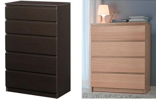 11 c modas baratas de ikea por menos de 100 euros for Comodas modernas para dormitorio