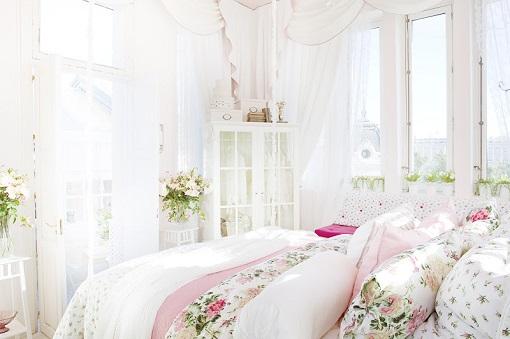 dormitorio romántico ikea