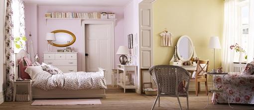 habitación Ikea vintage