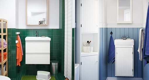 Ikea espejos de baño