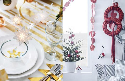 Lo mejor de ikea navidad 2014 para decorar tu casa for Accesorios para decorar en navidad