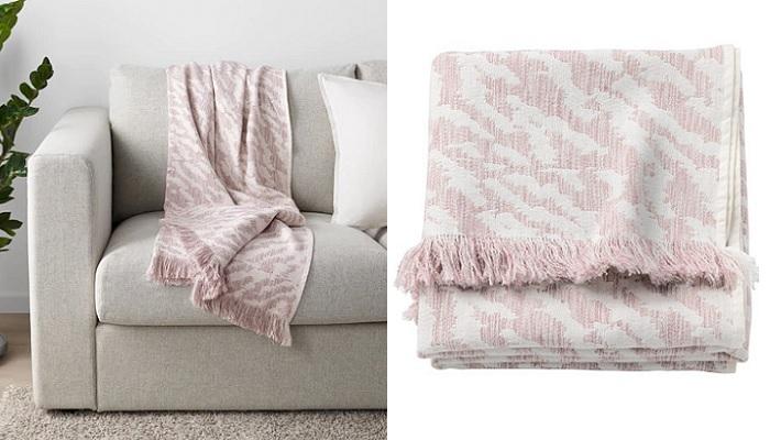 mantas Ikea para el sofa KAPASTER
