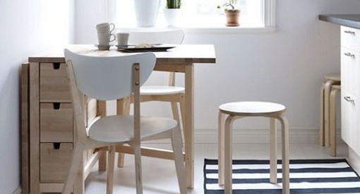 mesa plegable ikea la solucin para las cocinas pequeas